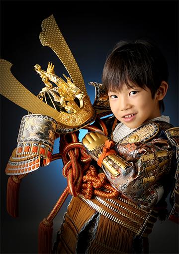 鎧兜の写真