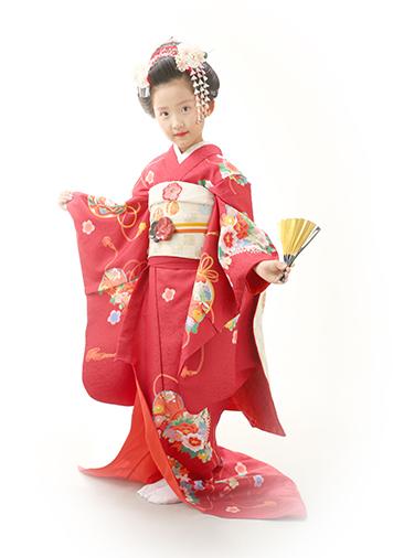 「赤舞妓」京都の舞妓専門店から譲り受けました。